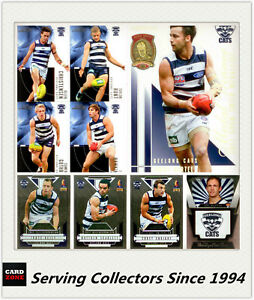 AFL-Trading-Card-MASTER-Team-Card-Collection-GEELONG-2012-AFL-II-Eternity