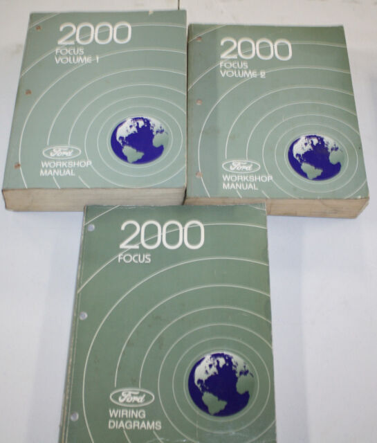 2000 Ford Focus Service Manual  U0026 Wiring Diagram