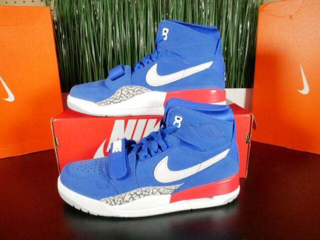 buy popular 28af7 c3ccf Nike Air Jordan Legacy 312 Pistons Detroit Don C Blue Red AV3922-416 Multi  Size