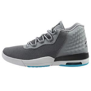 1ee252e463bfa Details about Jordan Academy Mens 844515-015 Cool Grey Blue Lagoon  Basketball Shoes Size 8