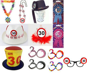 Image Is Loading 30th Birthday Accessories Party Favours Crazy