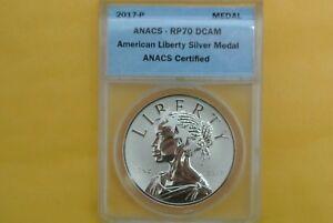 American Liberty Silver Medal 1oz 2017-P Reverse Proof 225th Ann
