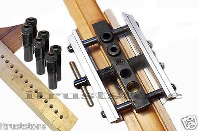 Self Centering Doweling Jig Wood Dowel Hole Drilling Guide