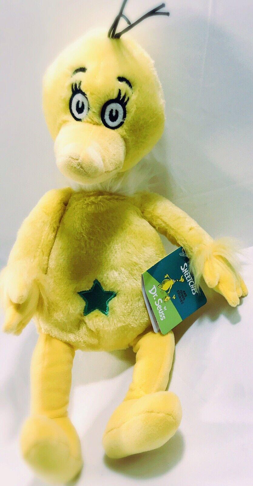 "Kohl's Cares Plush Dr. Seuss Sneetches Plush Stuffed Animal 12"""