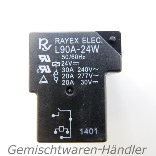 Relais 24V Steuerspannung 230V 30A Leistungsrelais 30V 20A Ampere Volt L90A-5W