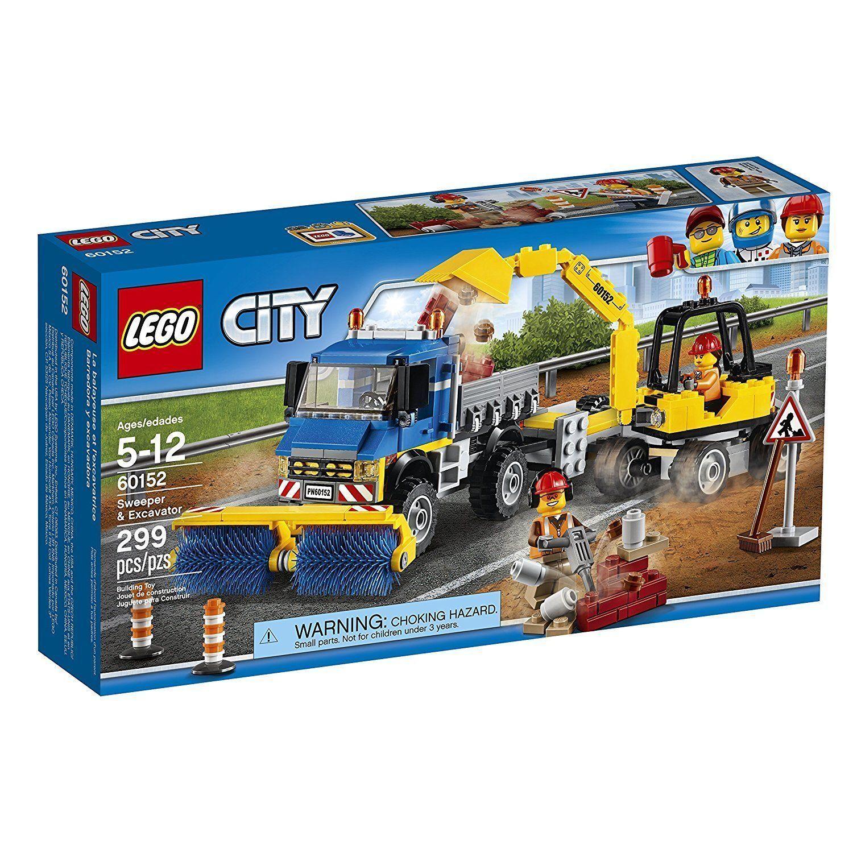 Lego City Great Vehicles  Sweeper & Pelle 60152 Building Kit LEGO Corée  nouveaux produits nouveautés