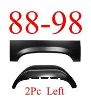 88 98 Left 2pc Inner & Outer Rear Wheel Arch, Rust Reapir, Chevy & Gmc Truck