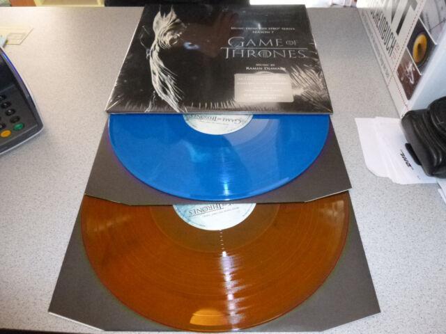 OST - Game Of Thrones Season 7 - ltd. numb. colored 180g audiophile 2LP /// Neu