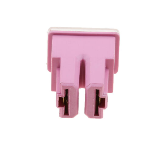 5 Pieces FLF-S Pink 30A 32V Female Push in Cartridge PAL Fuse for Car Auto