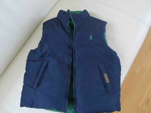 146 Polo Daunenjacke grün Details GrMGr140 Ralph Kinder blau zu Lauren Wendeweste bfyvY76g