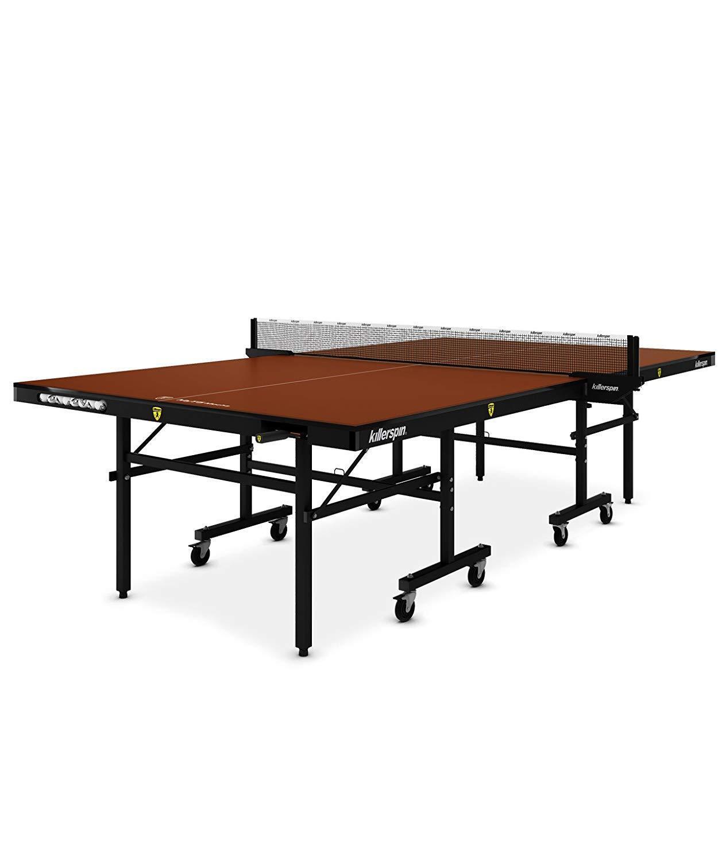 New Killerspin MyT5 MOCHA Adjustable Folding Indoor Table Tennis Table
