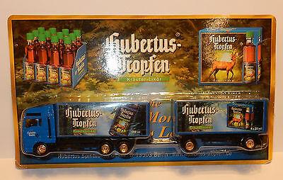 Ehrlich Grell Ho 1/87 Lastwagen Anhänger Lkw Trailer Man Tga Likör Hubertus Deutsch Beer Auf Der Ganzen Welt Verteilt Werden