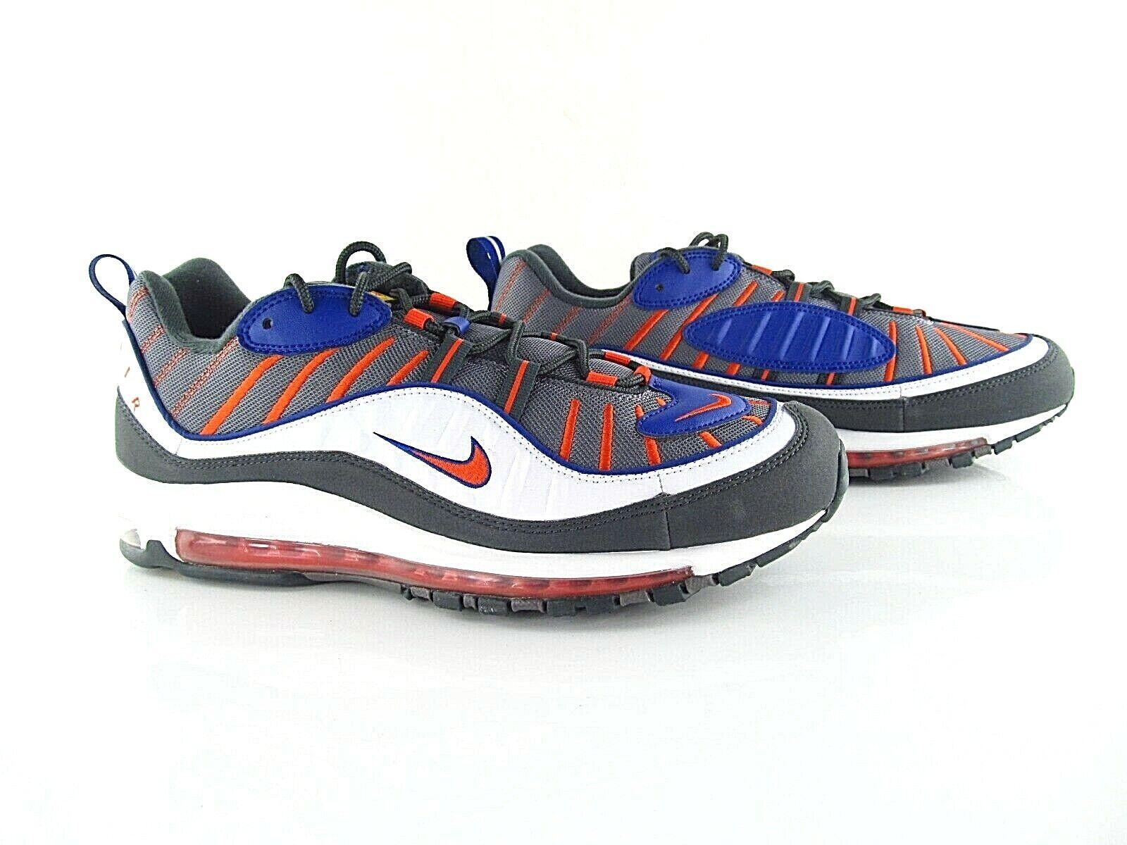 Nike Air Max 98 Blau Orange Grau New 640744 012 UK_11 US_12 Eur 46