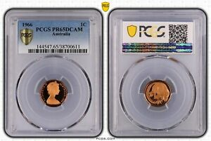 1966-Australian-1c-One-Cent-DCAM-Proof-PR65DCAM