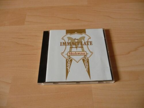 1 von 1 - CD Madonna - The Immaculate Collection - The Hits of the 80`s - 17 Songs