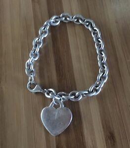 Argent 925 Joli Coeur Charme Bracelet-afficher le titre d`origine j16Ro49g-09161239-575546982