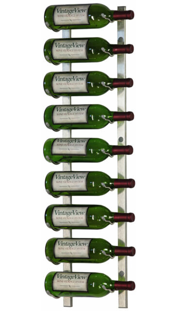 Vintageview Ws3 Series 9 Bottle Wall Mounted Wine Rack Finish