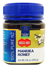 Manuka Health - MGO 400+ Manuka Honey, 100% Pure New Zealand Honey, 8.8 oz