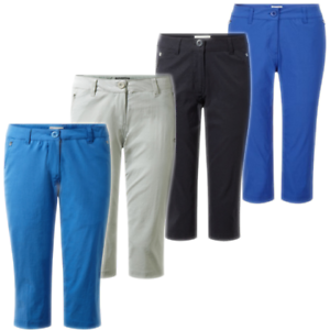 Craghoppers Ladies Pro Stretch Crop II 3 4 Trousers RRP