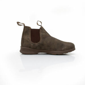 3513b06b2b7 Details about NEW Blundstone Style 1496 Rustic Brown Leather Boots For Men's