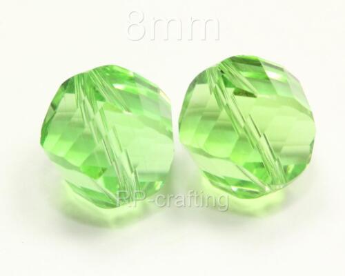 25 x Top quality Austria Helix crystal beads 6mm for Swarovski #5020 #H61 U Pick