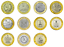 Russia-coins-10-rubles-rouble-2005-The-Russian-Federation-Full-Set-Year-11-Pcs thumbnail 1