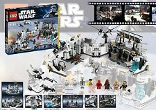 RETIRED Star Wars Lego 7879 HOTH ECHO BASE 100% Complete w/ Instructions & Box