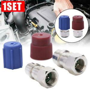 A-C-R-12-to-R-134a-Retrofit-Conversion-Adapter-Kits-Fitting-SAE-Valves