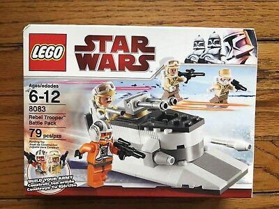 Lego Star Wars Rebel Trooper Battle Pack #8083 RETIRED