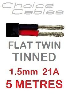 1.5MM 3 THREE CORE TINNED MARINE CABLE WIRE 21//0.30 3X21A 1 MTR LENGTH