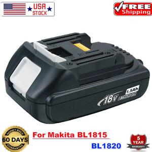 18V-2-5Ah-Lithium-Battery-18-Volt-For-Makita-LXT-BL1830-BL1815-BL1820-Drill-TOOL