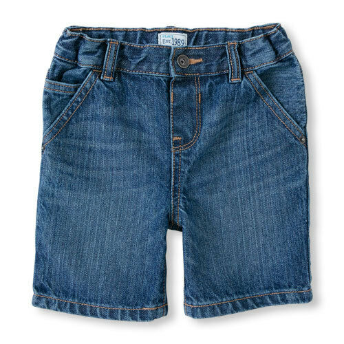 The Childrens Place Toddler Boys Jean Shorts Size 12-18 Months NWT