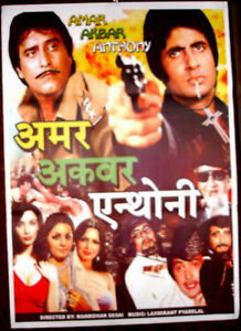 Amar Akbar Anthony   Bollywood Movie Posters Vintage Classic /& Indian Films