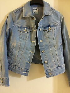Petite Old Blue Med Brand Navy New Tags Light Denim Jacket Small xBqATA