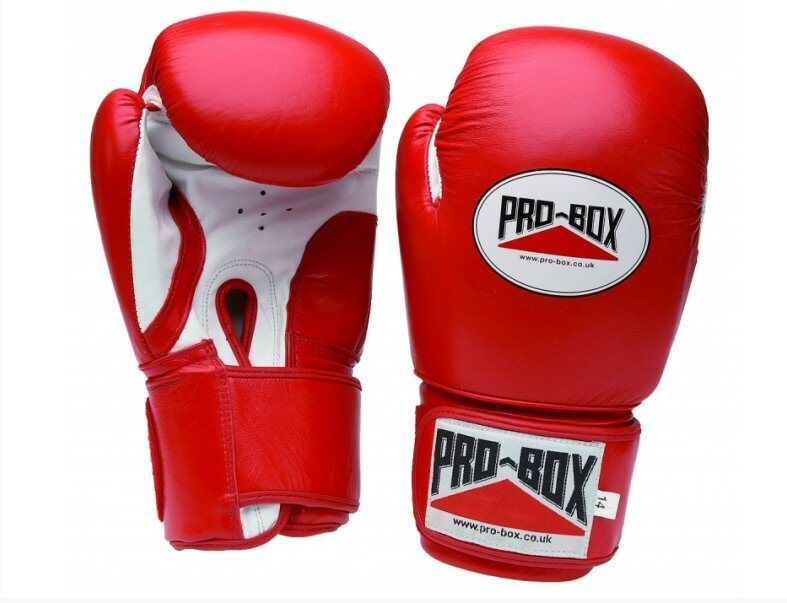 PRO scatola ROSSO Sparring Guanti