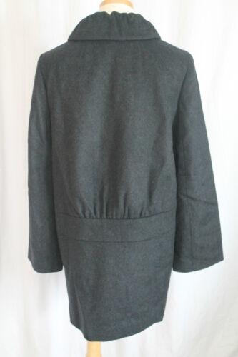 Størrelse Frakke Taryn Ny Uld J Crew Grå 10 xTOYwY