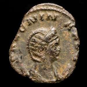 *Lucernae* Salonina Antoninianus PVDICITIA / Q / RIC.24 Rome 262 AD.