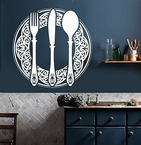 Image Is Loading Vinyl Wall Decal Dining Room Decoration Kitchen Restaurant