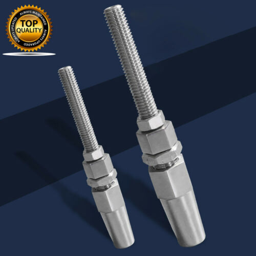 STAINLESS SWAGELESS THREAD TERMINAL //WIRE ROPE 3mm