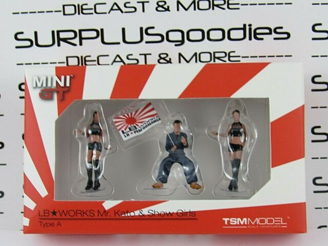 1:64 Mini GT LB-Works Mr #MGTAC04 Kato /& Show GirlsType A