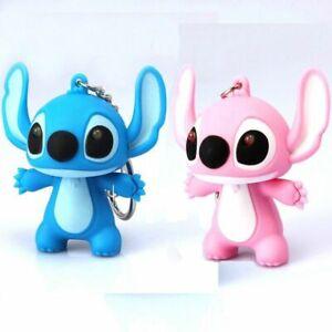 2PCS-Lilo-Stitch-Keychain-Mini-LED-Flashlight-Sound-Light-Bag-pendant-Chain-Gift