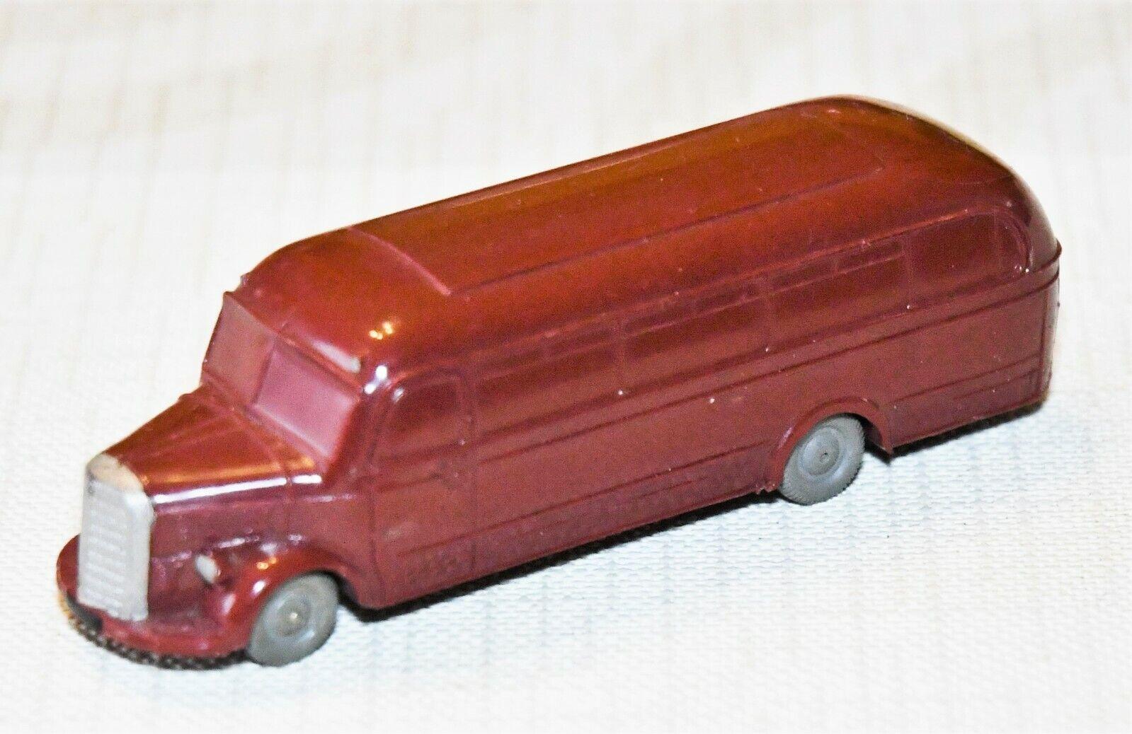 Märklin 860 8 E Mercedes Omnibus dunkelrot H0 1 87, 1953, selten