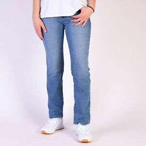Levi-s-505-Gerade-Blau-Damen-Jeans-DE-40-US-W32-L30