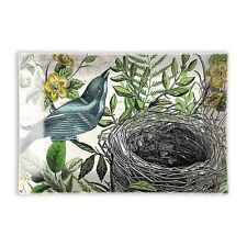 Michel Design Works Glass Soap Dish Into the Woods Birds Nest - NEW