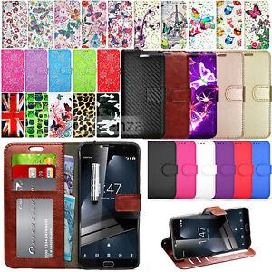 Para-Vodafone-Smart-Ultra-7-Billetera-Cuero-Estuche-Flip-Libro-Cubierta-Protector-de-pantalla