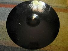 """22"""" Black Paiste Visions Ride Cymbal 3500g very rare, probably a power ride"""