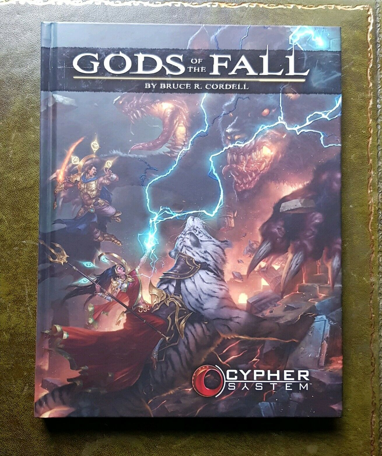 GODS OF THE FALL - CYPHER RPG MONTE COOK ROLEPLAYING ROLEPLAY FANTASY NUMENERA