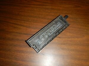 jeep wrangler yj 87 95 engine fuse box cover 4 or 6 cyl free ship ebay rh ebay com