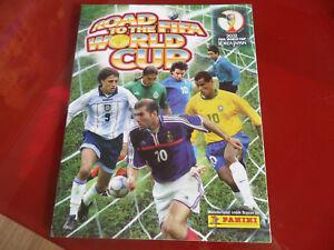 Album-Figurine-Panini-034-Road-To-Fifa-World-Cup-034-Vuoto-Edicola-Korea-2002