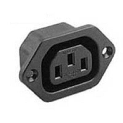 PRESA ELETTRICA Push Fit snap in C14 4.8 mm o 6,3 mm FASTON schede completamente approvato IEC